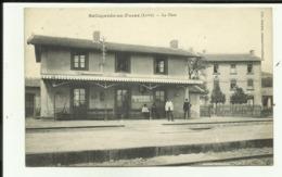42 - Loire - Bellegarde En Forez - La Gare - Le Personel - Beau Plan - - France