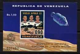 SPACE - VENEZUELA - S/S MNH - Spazio