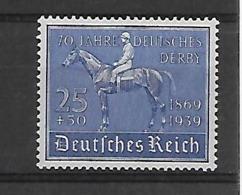 Reich  N° 637 Cote Yvert 2014 90 Euro  Xx Postfris Paard - Deutschland