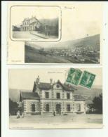 88 - Vosges - Bussang - Lot De 2 Cartes - Multi - Vues - La Gare - - Bussang
