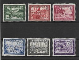 Reich  N° 697/702 Cote Yvert 2014   60 Euro  Xx Postfris - Deutschland