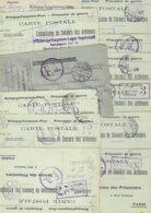 Lot Réservé      12 Documents  Vente Privée - Poststempel (Briefe)