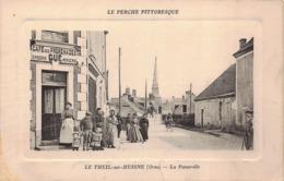 LE THEIL  Sur HUISNE  - La Passerelle Animée , Commerce - France
