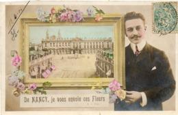 Nancy....de Nancy Je Vous Envoie Ces Fleurs - Nancy