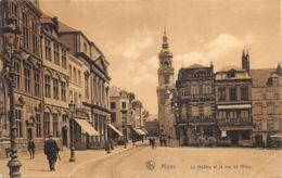 Mons - Le Théâtre Et La Rue De Nimy - Mons
