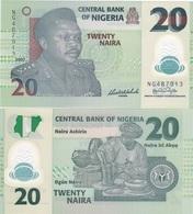 Nigeria - 20 Naira 2007 UNC 6 Digits Lemberg-Zp - Nigeria