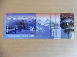 Suisse - Switzerland - Mi BL 60** - 2015 - Blocchi & Foglietti