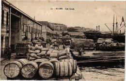 CPA Algérie-Alger-Les Quais (236692) - Alger