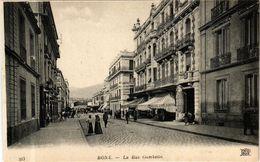 CPA Algérie-Bone-La Rue Gambetta (237053) - Annaba (Bône)