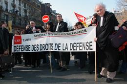 - 75 - Paris - Manifestant Avocat - Carte Postale Moderne - 7.281 - Sonstige