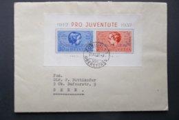 Helvetia: 1937 S/S Cover To Bern (#KV2) - Schweiz