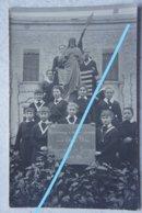 Photo JODOIGNE Pensionnat Guerre 1914-18 Remerciement Au Président Wilson 1917 - Orte