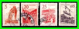 YUGOSLAVIA SELLO AÑO 1958 SERIE CORRIENTETECNOLOGIA Y ARQUITECTURA - 1945-1992 República Federal Socialista De Yugoslavia