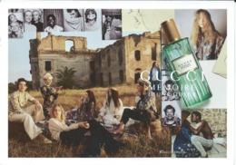 Postcard - Advertising - Fancy Card - GUCCI Memoire - Autres