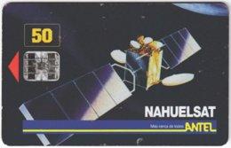 URUGUAY A-259 Chip Antel - Communication, Satellite - Used - Uruguay