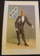 CHROMO HOTEL CONTINENTAL RUE CASTIGLIONE PARIS--MENU DU 18 OCTOBRE 1881--LITH. F. APPEL - Autres