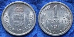 HUNGARY - 1 Pengö 1944 KM# 521 Regency (1926-1945) - Edelweiss Coins - Ungarn