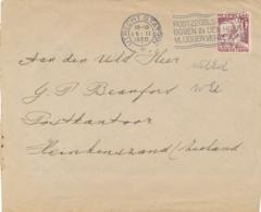 Nederland - 1936 - 6 Cent Kind, Enkelfrankering Op Brief Van Utrecht Naar Heinekenszand - Na Geldigheid - Periode 1891-1948 (Wilhelmina)