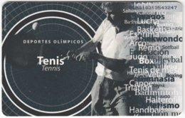 VENEZUELA B-337 Chip CanTV - Sport, Tennis - Used - Venezuela