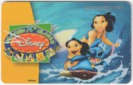 VENEZUELA B-349 Chip CanTV - Cinema, Walt Disney - Used - Venezuela