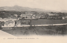***13  **  AUBAGNE  Panorama Et Le Pic  De Garlaban  - Précurseur Neuf LUXE - Aubagne