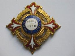 Magnifique Médailles - EXPOSITION INTERNATIONALE PARIS 1910    ***** EN ACHAT IMMEDIAT **** - Frankrijk