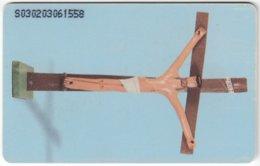 VENEZUELA B-393 Chip CanTV - Religion, Jesus - Used - Venezuela