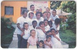 VENEZUELA B-412 Chip CanTV - People, Group - Used - Venezuela