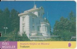 TURKEY - Ozel Muzeler, Ataturk Kosku Ve Muzesi/Trabzon(30 Units), 05/02, Used - Turquie