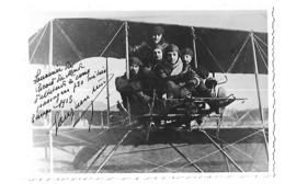 LEON GOUGENHEIM RECORD ALTITUDE ETAMPES 1913 PHOTO AUTOGRAPHE ORIGINAL AUTOGRAPH AVIATION + Delporte /FREE SHIPPING R - Aviación