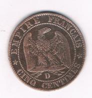 5 CENTIMES 1854 D  FRANKRIJK /8765/ - France