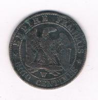 5 CENTIMES 1856 W   FRANKRIJK /8766/ - France