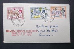 Bermuda: 1970 FDC To Bermuda (#KV6) - Great Britain (former Colonies & Protectorates)