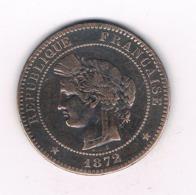 10 CENTIMES 1872 K  FRANKRIJK /8768/ - France