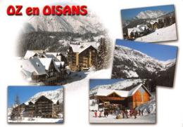 OZ EN OISANS Rocher Rissiou Station D Oz En Oisans Col Du Poutran 9(scan Recto-verso) MA1252 - France