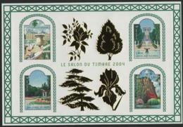 """BF 71 """"LE SALON DU TIMBRE 2004 / JARDINS DE FRANCE"""". Neuf Sans Charnière **. TB - Sheetlets"""