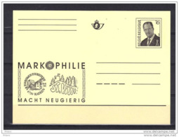 BELGIQUE ENTIER POSTAL MARKOPHILIE . (JE5) - Cartes Postales [1951-..]