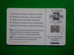 Télécarte Mali, Le Port De Mopti, 10 Unités, Utilisé, Traces - Mali