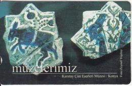 TURKEY - Karatay Cini Eserleri Muzesi/Konya(60 Units), 09/01, Used - Turquie