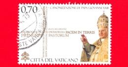 VATICANO - 2014 - Usato - Canonizzazione Di Papa Giovanni XXIII - 0,70 € • Ritratto - Vaticano
