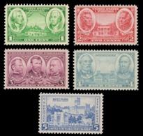 UNITED STATES STAMP. 1936 SCOTT # 785 - 789. ARMY ISSUE. UNUSED. - Unused Stamps