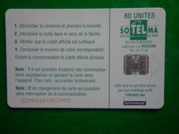 Télécarte Mali, Femmes Peules, 60 Unités, Utilisé, Traces - Mali