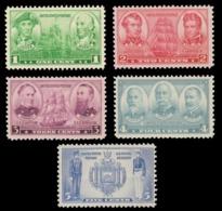 UNITED STATES STAMP. 1937 SCOTT # 790 - 794. NAVY ISSUE. UNUSED. - Unused Stamps
