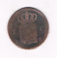 1 CENT 1827 B BRUSSEL   BELGIE /8775/ - Belgique