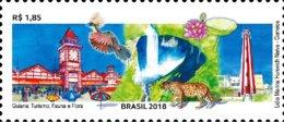 Phare Lighthouse Vuurtoren Leuchttürme Faro Fari BRESIL BRASIL 2018 NEUF** MNH - Faros