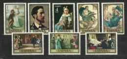 ESPAÑA 1974  Edi:ES 2203/2210  ** MNH - Arte