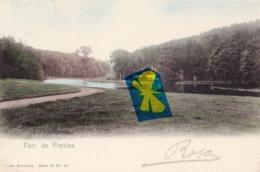 Parc De PRESLES - Carte Colorée Et Circulée En 1905 - Aiseau-Presles