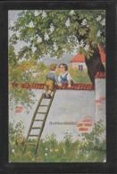 AK 0366  Hoffmann , Ad. - Nchbarskinder / Künstlerkarte Um 1917 - Humorvolle Karten