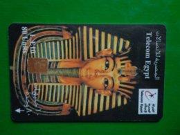 Télécarte Egypte, Télécom Egypt, 80 Unités, Utilisé, Traces - Aegypten