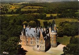 LE DONJON Vue Aerienne Chateau De Contresol 6(scan Recto-verso) MA1636 - Frankrijk